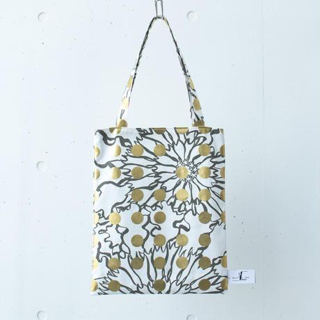 BAG_LCトート -BUBBLE FLOWOR -(GOLD)