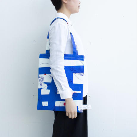 BAG_LCトート -MAGIC BIRD- (BLUE)