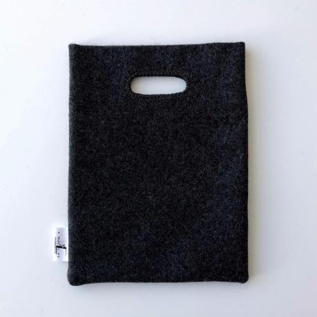 BAG_刺繍フェルトバッグ  -DESERT OASIS- (BLUE)