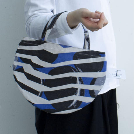BAG_ミニRトート -RIVER SIDE-(BLUE)