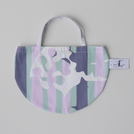 MINI R TOTE           -DEEP BREATH- (ROSE PINK)