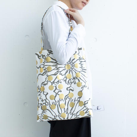 BAG_LCトート -BUBBLE FLOWOR -(GOLD)