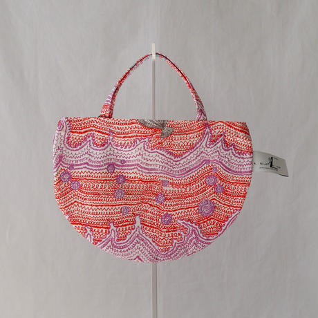 MINI R TOTE            -LITTLE OCEAN- (RED)