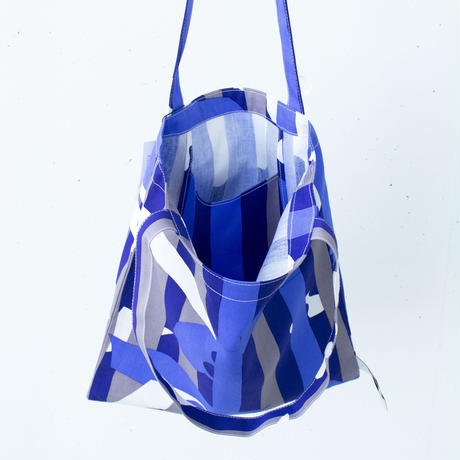 BAG_LCトート -DEEP BREATH- (BLUE)