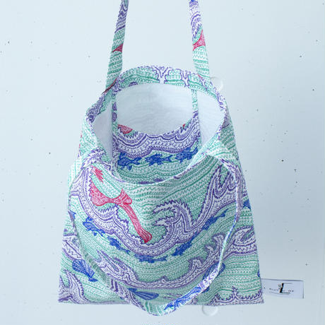 BAG_LCトート -LITTLE OCEAN- (EMERALD GREEN)