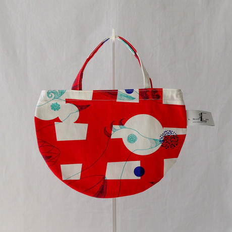 MINI R TOTE            -MAGIC BIRD- (RED)