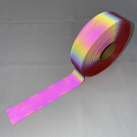 【LIGHT FORCE®︎】オーロラリフレクターテープ 25mm幅 レッド