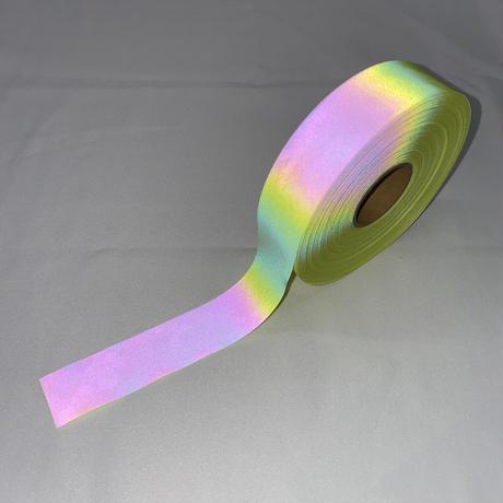 【LIGHT FORCE®︎】オーロラリフレクターテープ 25mm幅 イエロー