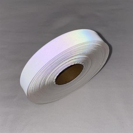 【LIGHT FORCE®︎】オーロラリフレクターテープ 15mm幅 ホワイト