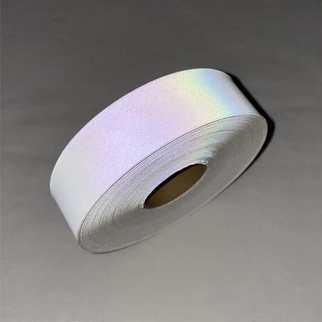 【LIGHT FORCE®︎】オーロラリフレクターテープ 25mm幅 ホワイト