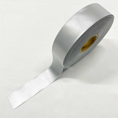 【LIGHT FORCE®︎】リフレクターテープ 25mm幅 アルミシルバー