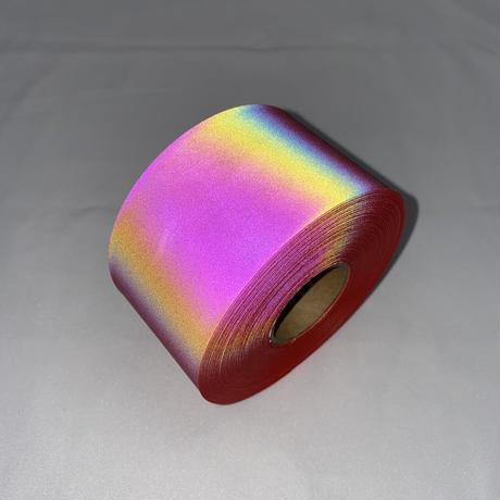 【LIGHT FORCE®︎】オーロラリフレクターテープ 50mm幅 レッド