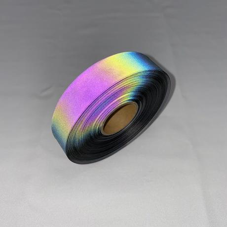 【LIGHT FORCE®︎】オーロラリフレクターテープ 20mm幅 ブラック
