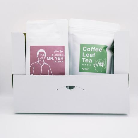 [台湾コーヒーとお茶セット]TAIWAN COFFEE LEAF TEA SET