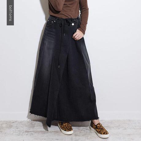 デニムロングスカート    sk0003