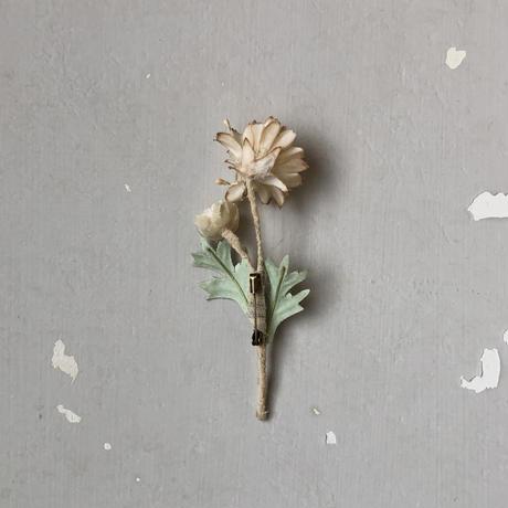 [季節のお花ブローチ]9月:スカビオサ
