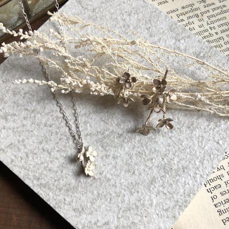 金木犀のネックレス* Silver