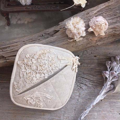 お花のマグネット&ミトンセット*