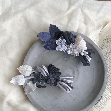 お花のバイカラークリップ * 2color