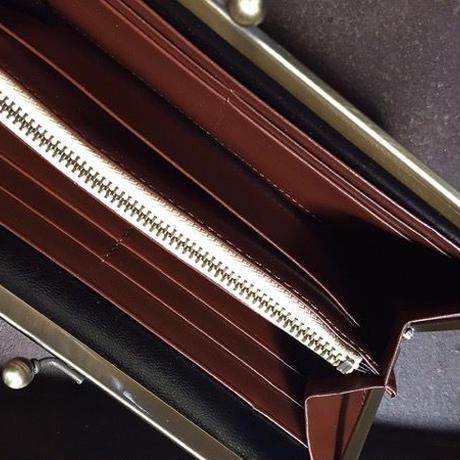 【限定一点】Lilaf アンティークレースのがま口財布4