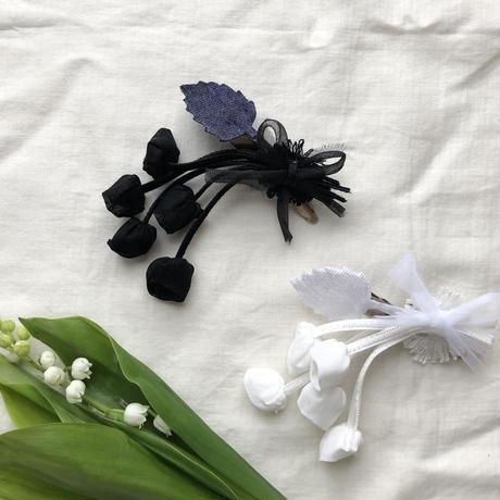 オーガンジーのお花コサージュ* 2color