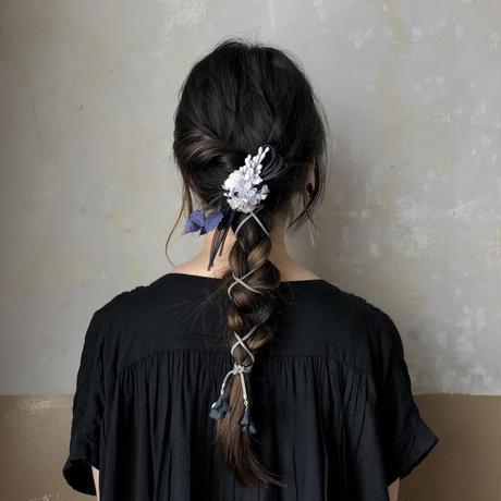お花のバイカラーコサージュ * 2color
