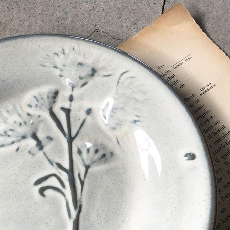 [ YARNNAKARN ]DRIED FLOWERS COLLECTOR'S  -Plate M-