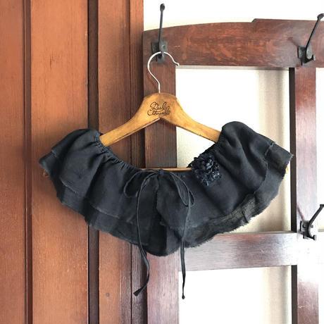 リネンのベルト&付け襟