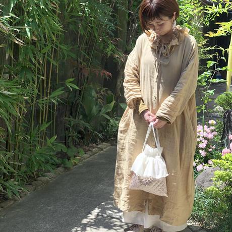 【限定】スズランレースのキルト巾着バッグ*