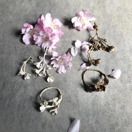 [4月誕生花×誕生石]桜のピアス*