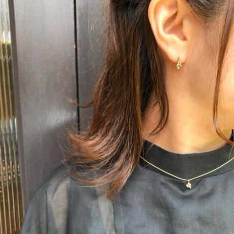 【K10】かすみ草ネックレス