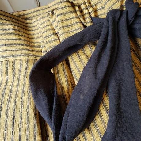 [etoffe et soeur]数量限定*ストライプロングスカート* Yellow