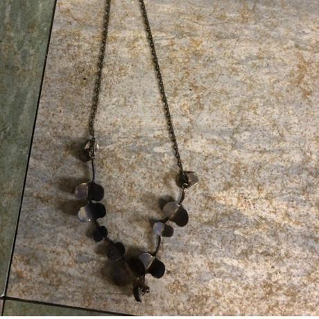 【限定受注】ヤマイモツルのメタルネックレス ∞Gold(真鍮)