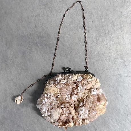 【Lilaf限定1点*】カーネーションとバラのアンティークミニbag*