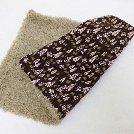 【リメイク】ペット用毛布☆北欧の森