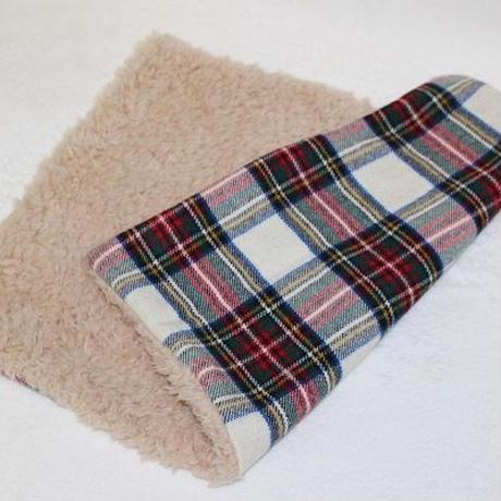 【リメイク】ペット用毛布☆タータンチェック