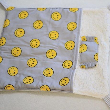 【オーダー】布団ハンモックにこちゃんLサイズ2枚・にこちゃん寝袋(サイズ指定)