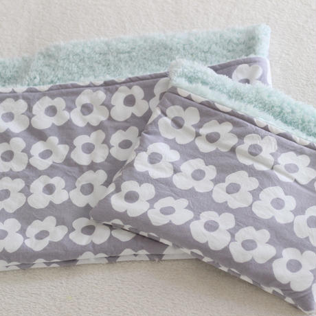 【オーダー】ボア寝袋セット 花柄