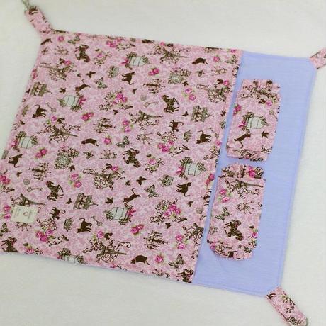 【オーダー】綿入りカン付・布団ハンモックLサイズ☆鳥かご・猫