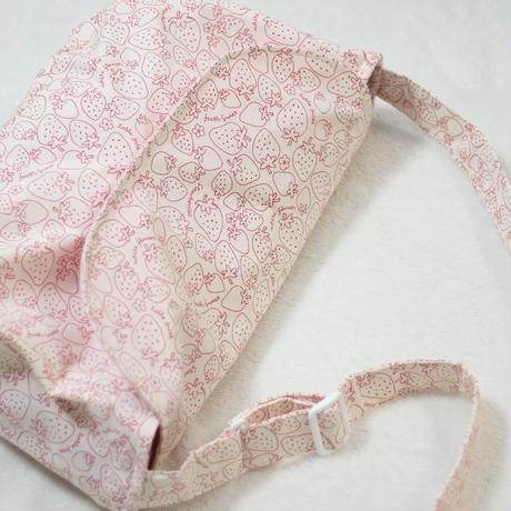 【オーダー】ペット用スリング いちご