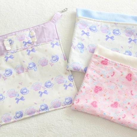 【オーダー】ナスカン付綿入り布団ハンモックMサイズ・フリース寝袋Mサイズ