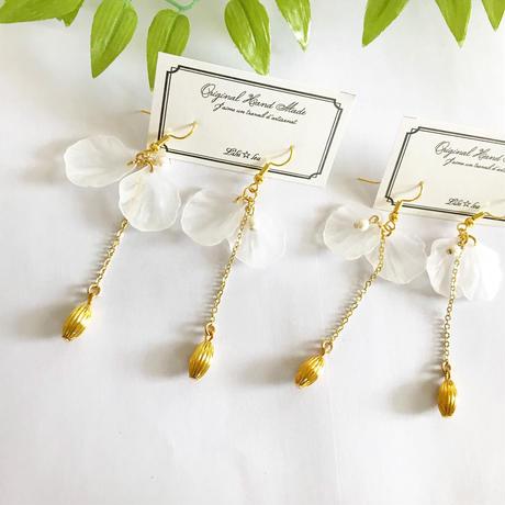 Petalpierce/earring