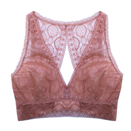 Moroccan Back Style Rose Pink Bralette