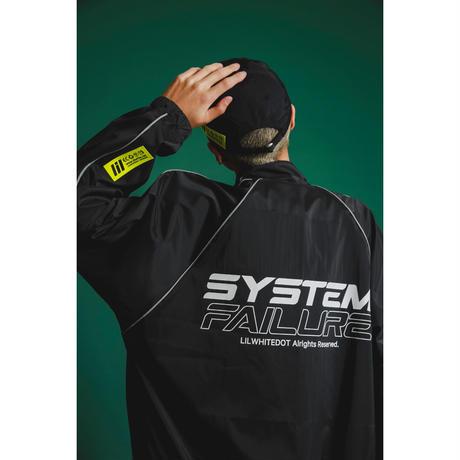 """""""SYSTEM"""" TRACK JKT (BLK)"""