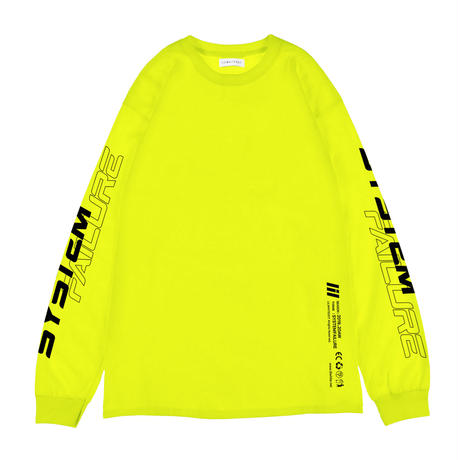 """""""85"""" L/S TEE (LIME)"""