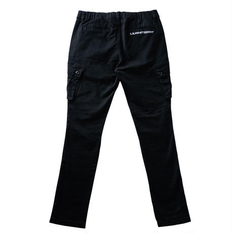 """WARFARE"" STRETCH CARGO PANTS (BLK)"