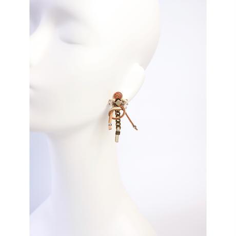 chain tie earring