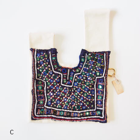 【DiDi by Lily】Katch tribe canvas knot bag (S)