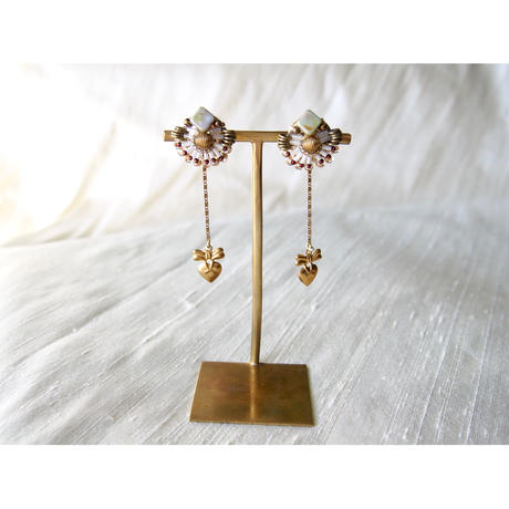2way  charm  swing  earrings