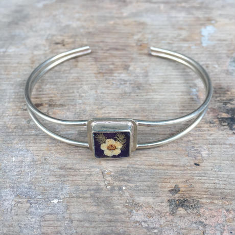 【GUSTAVO】 Flower Extrafine Bracelet Square
